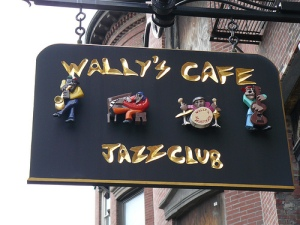 Wally's Cafe Sign